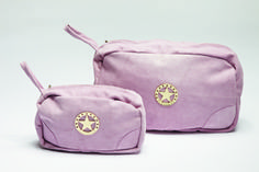 Make your live Pink! Florence Design Make-up and Toilet bags in suede leather! Suede Leather, Florence, Fashion Backpack, Toilet, Take That, Bath, Backpacks, Live, Collection