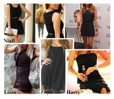 """""""Little Black Dress"""" by swaggxdirection ❤ liked on Polyvore"""