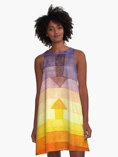 Wonderful artwork to look very smart and different #fashion art #paul klee #wearable art That Look, Artwork, Work Of Art