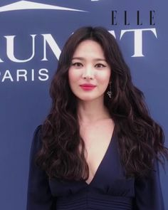 Song Hye Kyo recently made a public appearance in Monaco for Chaumet, and netizens criticized her for actively promoting despite divorce news. Beauty Makeup, Eye Makeup, Hair Makeup, Hair Beauty, Song Hye Kyo, Song Joong Ki, Korean Actresses, Korean Actors, Yoo Ah In