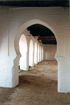Arco árabe en #Palacio Ducal en San Lucar de Barrameda en #Cádiz