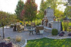 Outdoor Fireplaces, Fire Pits & Pizza Ovens | Green Guys