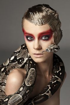 Top Model Love: Snakes, Spiders, Lizards, Cockroaches, Scorpions...what's so scary about that?
