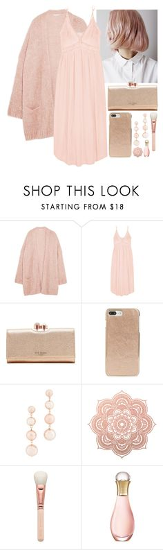 """""""[23/31] Photograph"""" by decimaollin ❤ liked on Polyvore featuring Eberjey, Ted Baker, Kate Spade, Rebecca Minkoff, ZOEVA and Christian Dior"""
