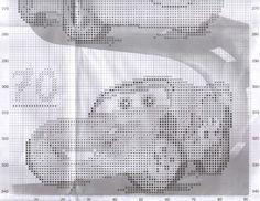 Детская вышивка.Ростомер Тачки. Обсуждение на LiveInternet - Российский Сервис Онлайн-Дневников