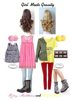 """Girl Meets Gravity: Riley Matthews and Maya Hart: STS: Read D"" by kittylover800 ❤ liked on Polyvore"