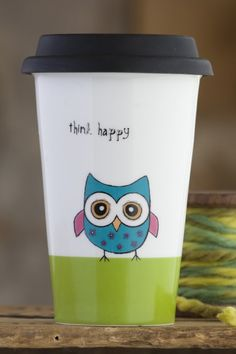 Live Happy AND keep your coffee hot longer!