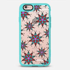 Flake 1 - New Standard Case. Choose your own bumper colour. Design available for all iphone models. $10 off your first order @Casetify using code: ZN4AQG #casetify #case #iphonecase #phonecover #discount #offer #discountcode #mandala #pattern #snowflake #pattern #transparent #clearcase