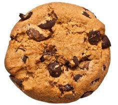 Sušenky s hořkou čokoládou