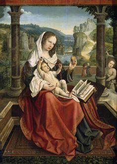 Virgin and Child, Bernard van Orley, c.1516