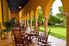 Galería de la hacienda en Mérida Yucatan | Hotel Hacienda Misné