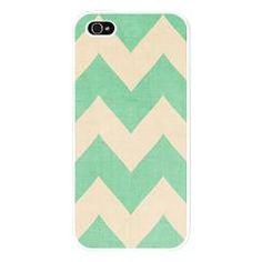 Malibu - Mint Green Chevron iPhone 5 Case