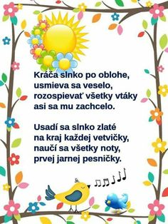 práca mojej šikovnej kolegyňky Marcelky Spring Activities, Activities For Kids, Diy For Kids, Crafts For Kids, Mish Mash, Kids Songs, Kids And Parenting, Paper Flowers, Diy And Crafts