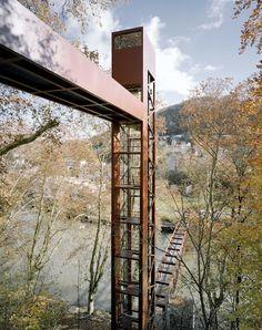 Ascenseur urbain Limmatsteg, Baden (Roger Frei)