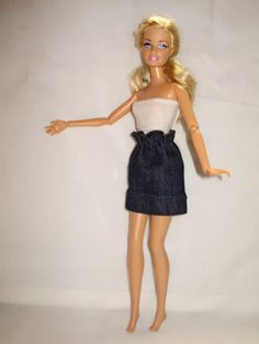 Barbie  doll skirt by Barbiekend on Etsy, $3.50