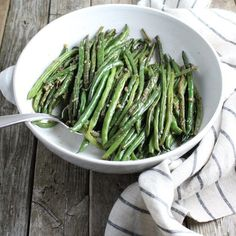 Garlic Green Beans | Taste And See