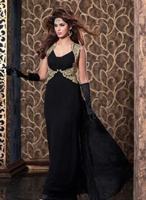 Bewitching #Evening #PartyWear #NetGown