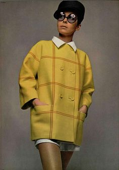 #1960s#60s#vintage#yellow#coat#vintage-fashion#60s-fashion