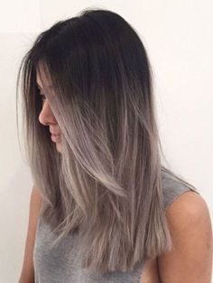 Ombre Hair Color Ideas for 2019 – The Right HairStyles hair styles hair hair styles hairstyles hairstyles hair styles color hair styles color ideas highlights hair hair styles hairstyles hair Hair Color Ideas For Brunettes Balayage, Hair Color Balayage, Gray Balayage, Fall Balayage, Ombre Hair Colour, Ashy Brown Hair Balayage, Haircolor, Short Balayage, Color Streaks