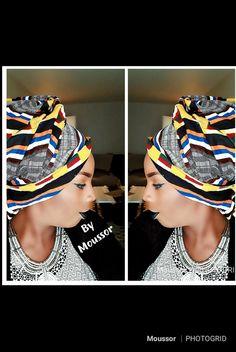 By moussor,  Make up artist et attaché de foulard Sanaa, Up, Captain Hat, Creations, Hats, Fashion, Headscarves, Atelier, Moda
