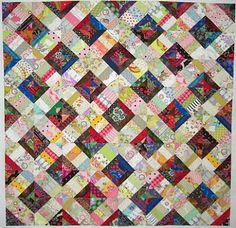 Karen Griska Quilts: Trellis String Quilt Pattern