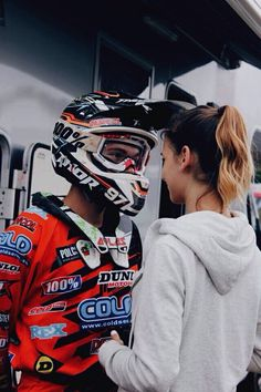 girl, motocross, and love Bild