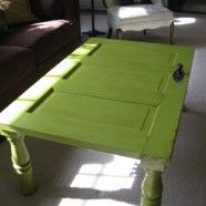 end table to go with my dor sofa. I think I need to buy a old house just to make my furnature