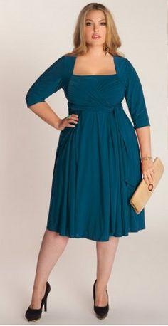 Coral Blue Dress by  Igigi   LOVE it!