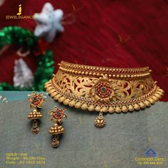 Timeless tradition just for you. Get in touch with us on Gold Bangles Design, Gold Jewellery Design, Gold Jewelry, Antique Jewelry, Fancy Jewellery, Designer Jewellery, Ruby Jewelry, Diamond Jewellery, Handmade Jewellery