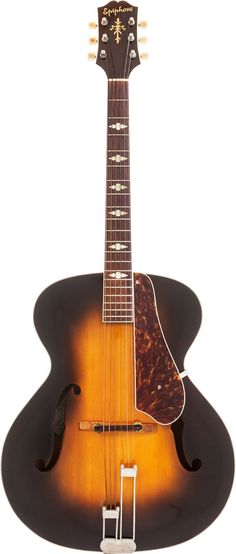1947 Epiphone Triumph archtop Guitar --- https://www.pinterest.com/lardyfatboy/