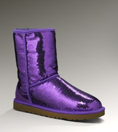 Uggs Classic Short Sparkles - MUST HAVE IN PURPLE