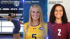 George Washington junior Chidima Osuchukwu has been named the first Atlantic 10 Conference Volleyball Player of the Week for 2015.