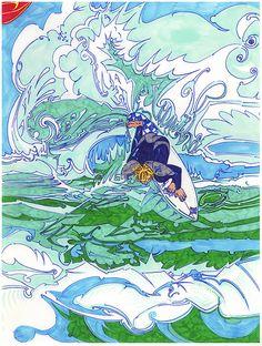 Lüthårt | NY Surf Art | Whack!! | Kramoris Gallery | Sag Harbor, NY
