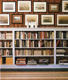 Bookshelves are so classic, especially built-ins, and I love them when they are full of great books. I dream of a huge library with wall-to...