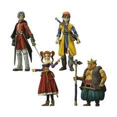 Dragon Quest 9 Hero | Dragon Quest VII AF - Play Arts Hero