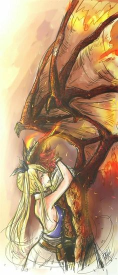 Fairy Tail Nalu, Fairy Tail Love, Fairy Tail Ships, Arte Fairy Tail, Image Fairy Tail, Fairy Tail Guild, Fairy Tail Natsu And Lucy, Fairy Tail Drawing, End Fairy Tail