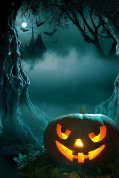 Halloween Night iPhone wallpaper