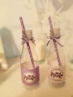 Botellas Botellitas Shabby Chic Vintage X 10 Unid.decoradas - $ 160,00 en MercadoLibre