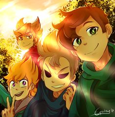 "EDDSWORLD YOU HAVE TOOK MY SOUL INTO YOUR FANDOM. WHY?! YOU""RE MAKING MY SOUL TO DRAW FANART OF THIS. OHSHEEETTT"