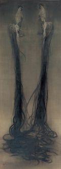 Fuyuko Matsui @ Yokohama Museum Japanese Artists, Yokohama, Cool Paintings, Horror, Museum, Clouds, Fine Art, Drawings, Artwork