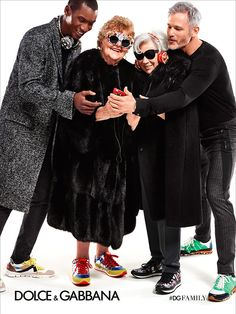 dolce and gabbana fw15 campaign