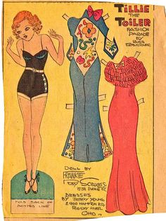 such surprise vintage paper dolls https://www.flickr.com/photos/cluttershop/3413665051/in/pool-445407@N23/