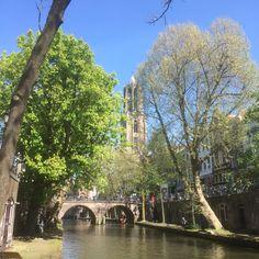 6 mei 2016 - Langs de grachten van Utrecht, Dom en Centraal Museum