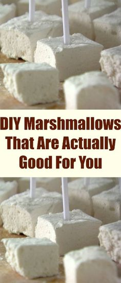 DIY Marshmallows That Are Actually Good For You
