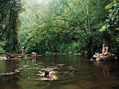 Natural Swimming Holes