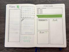 5 Ideen für deine Monatsübersicht