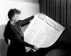 """Eleanor Roosevelt  """"Where, after all, do universal human rights begin? In small places, close to home - so close and so small that they cannot be seen on any maps of the world. Yet they are the world of the individual person; the neighborhood he lives in; the school or college he attends; the factory, farm, or office where he works."""""""