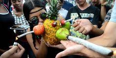 Voilà à quoi ressemble une manifestation en faveur du cannabis en Colombie