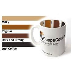 Kubek z Paletą Barw Kawy