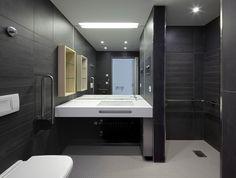 Badezimmer der Komfortstation im Schwarzwald-Baar Klinikum in Villingen-Schwenningen